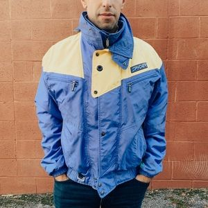 Vintage Spyder Ski Snowboard Colorblock Jacket XL
